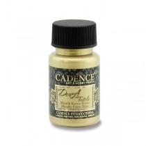 Textilní barva Cadence Dora Textile bílé zlato
