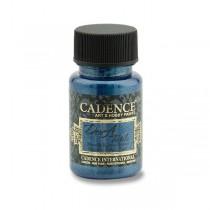 Textilní barva Cadence Dora Textile tmavě modrá