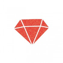 Diamantová barva Aladine Izink červená