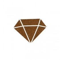 Diamantová barva Aladine Izink hnědá