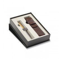 Parker Urban Premium Aureate Powder GT plnicí pero, dárková kazeta s pouzdrem