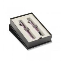 Parker IM Light Purple CT sada plnicí pero a kuličková tužka