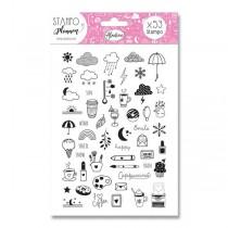 Stampo Planner Aladine - Pohodový den 53 ks