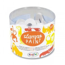 Razítka Aladine Stampo Paint - Safari 12 ks