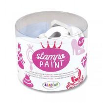 Razítka Aladine Stampo Paint - Princezny 12 ks