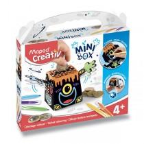 MiniBox Maped Creativ Sametové malování pokladnička