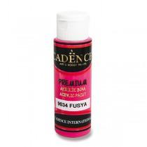 Akrylové barvy Cadence Premium fuchsiová