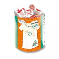 Razítka Aladine Stampo Textile Tropical