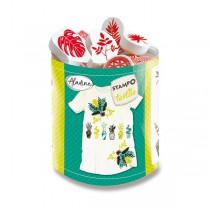 Razítka Aladine Stampo Textile Rostliny
