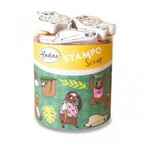 Razítka Stampo Scrap Lenochod