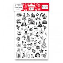 Stampo Christmas Aladine - Veselé Vánoce 52 ks