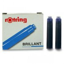 Inkoustové bombičky Rotring Brillant modré
