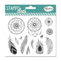 Razítka gelová Stampo Clear - Lapač snů