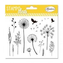 Razítka gelová Stampo Clear - Tráva