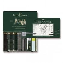 Grafitová tužka Faber-Castell Pitt Monochrome Graphite sada 26 kusů