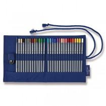 Akvarelové pastelky Faber-Castell Goldfaber Aqua textilní pouzdro, 27 barev