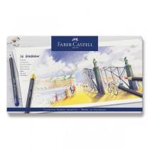 Pastelky Faber-Castell Goldfaber plechová krabička, 36 barev