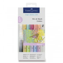 Voskovky Faber-Castell Gelatos Pastels 15 barev