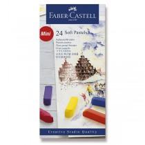 Pastelové křídy Faber-Castell Mini 24 barev