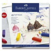 Pastelové křídy Faber-Castell Mini 48 barev