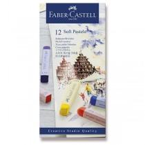 Pastelové křídy Faber-Castell 12 barev
