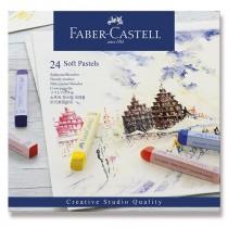 Pastelové křídy Faber-Castell 24 barev