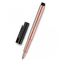 Popisovač Faber-Castell Pitt Artist Pen Metallic měděný