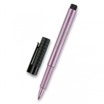 Popisovač Faber-Castell Pitt Artist Pen Metallic rubínový