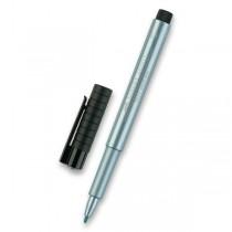 Popisovač Faber-Castell Pitt Artist Pen Metallic metalický modrý