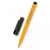 Popisovač Faber-Castell Pitt Artist Pen Brush - žluté a oranžové odstíny 109
