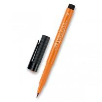 Popisovač Faber-Castell Pitt Artist Pen Brush - žluté a oranžové odstíny 186