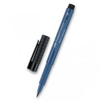 Popisovač Faber-Castell Pitt Artist Pen Brush - modré odstíny 247