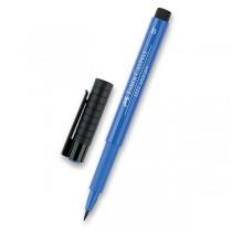 Popisovač Faber-Castell Pitt Artist Pen Brush - modré odstíny 143
