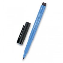 Popisovač Faber-Castell Pitt Artist Pen Brush - modré odstíny 120