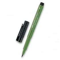 Popisovač Faber-Castell Pitt Artist Pen Brush - zelené odstíny 167