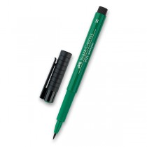 Popisovač Faber-Castell Pitt Artist Pen Brush - zelené odstíny 264