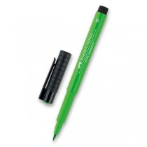 Popisovač Faber-Castell Pitt Artist Pen Brush - zelené odstíny 112