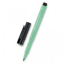 Popisovač Faber-Castell Pitt Artist Pen Brush - zelené odstíny 162