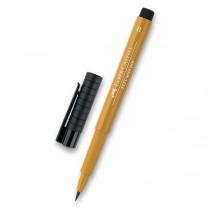 Popisovač Faber-Castell Pitt Artist Pen Brush - hnědé a metalické 268