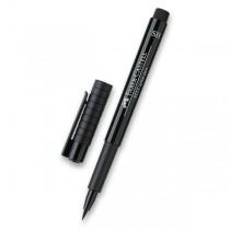 Popisovač Faber-Castell Pitt Artist Pen Soft Brush černý