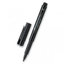 Popisovač Faber-Castell Pitt Artist Pen Soft Chisel černý