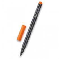 Popisovač Faber-Castell Grip 1516 - barevné oranžová