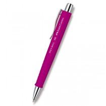 Kuličková tužka Faber-Castell 241 Poly Ball XB růžová