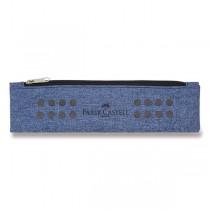Pouzdro Faber-Castell Grip Melange modré