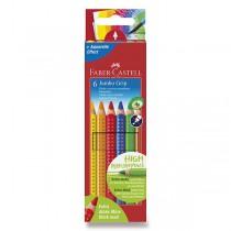 Pastelky Faber-Castell Jumbo Grip 6 barev