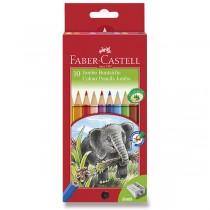 Pastelky Faber-Castell Jumbo 10 barev