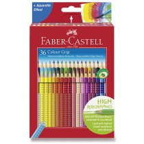 Pastelky Faber-Castell Grip 2001 36 barev