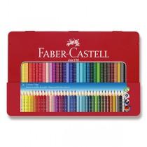 Pastelky Faber-Castell Grip 2001 plechová krabička, 36 barev