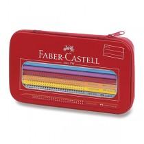 Pastelky Faber-Castell Grip 2001 duha, 17 ks