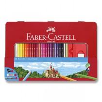 Pastelky Faber-Castell 48 barev + příslušenství